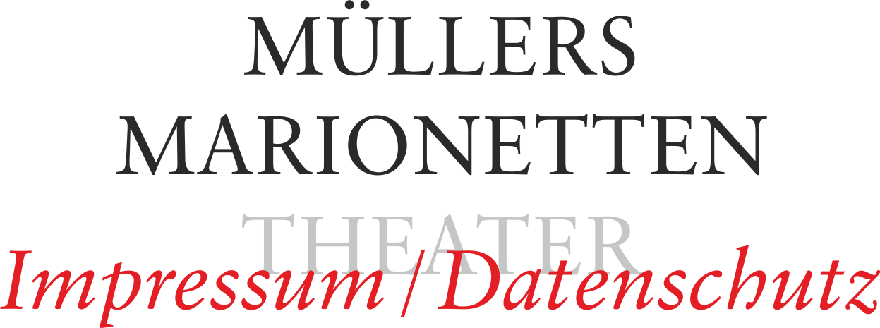 Müllers Marionetten-Theater – Lageplan